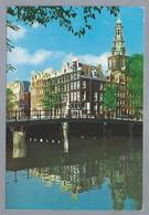NL.- AMSTERDAM. Kloveniersburgwal Raamgracht Met Zuiderkerk. - Kerken En Kathedralen