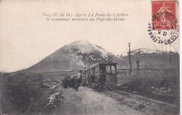 63 Après La Font-de-L'Arbre, Le Tramway Montant Au Puy-de-Dôme - Non Classificati