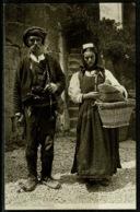 Ref 1257 - 1913 Ethnic Raphael Tuck Postcard - Bosian Peasants Bosnia Balkans - Europe