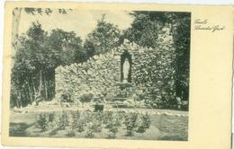 Vaals 1931; Lourdesgrot - Gelopen. (Gebr. Simons - Ubach Over Worms) - Vaals