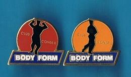 LOT 2 PIN'S //  ** CLUB CONSEIL / BODY FORM / 2 DIFFÉRENTS ** - Pin's