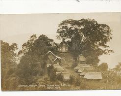 Real Photo Catholic Mission Station , Dilawa Kuni , Papua 1904 - Papouasie-Nouvelle-Guinée