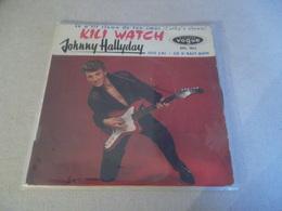 VINYLE 45 T JOHNNY HALLYDAY KILI WATCH DISQUES VOGUE EPL 7812 - Rock
