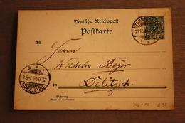 ( 1293 ) GS DR  P 36  I    Gelaufen  -   Erhaltung Siehe Bild - Allemagne