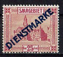 Saargebiet 1923 // Mi. 14 I * - Officials