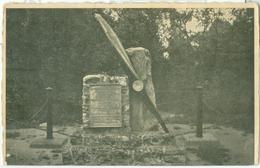 Vaals 1946; Vliegermonument - Gelopen. (Gebr. Simons - Ubach Over Worms) Lees Info! - Vaals