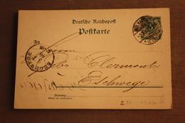 ( 1295 ) GS DR  P 36  I    Gelaufen  -   Erhaltung Siehe Bild - Allemagne