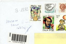 °°° Raccomandata Con Vari Francobolli °°° - 6. 1946-.. Repubblica