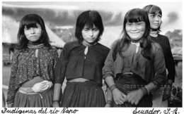 Equateur - Ethnic / 02 - Indigenas Del Rio Napo - Equateur