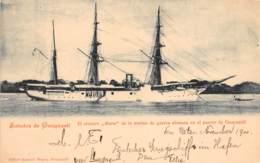 Equateur - Guayaquil / 01 - El Crucero Marie De La Marina De Guerra Alemana - Belle Oblitération - Ecuador