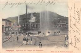 Equateur - Guayaquil / 03 - Egersicio Del Cuerpo De Bomberos - Défaut - Equateur