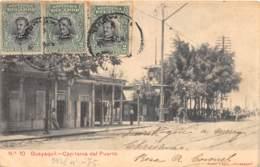 Equateur - Guayaquil / 15 - Capitania Del Puerto - Belle Oblitération - Equateur