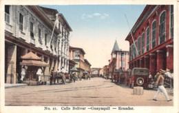 Equateur - Guayaquil / 17 - Calle Bolivar - Equateur