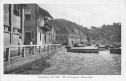 Grenada / 01 - Landing Wharf - St Georges's - Grenada