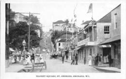 Grenada / 02 -  Market Square - St Georges's - Grenada
