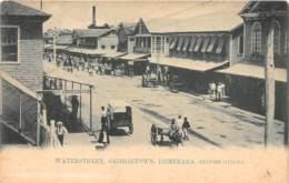 British Guyana / 22 - Georgetown - Water Street - Antilles