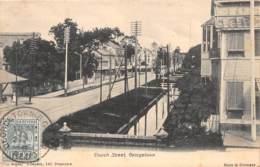 British Guyana / 25 - Church Street - Georgetown - Belle Oblitération - Antilles