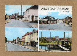 CPSM Dentelée - AILLY-sur-SOMME (80) - Carte Multi-vues Des Années 60 / 70 - France