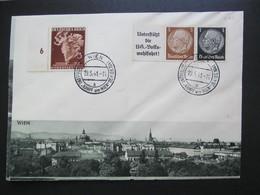 Enveloppe, Wien, 1941, Sonderstempel *DEL3010* - Vienna