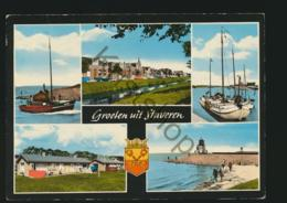Staveren  [AA34-0.886  - Gelopen, Postzegel Ontbreekt - Paesi Bassi