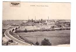54 Auboue Pont Et Vue De L' Usine , Carte écrite En 1919 - Francia