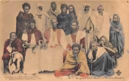 Mauritanie / 03 - Un Grand Chef Maure Et Sa Suite - Mauritanie