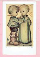 Plechtige H. Communie Prentje - Germaine Vanderschoot - Witgoor Dessel 1958 - Images Religieuses