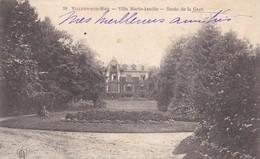 14.VILLERS SUR MER . CPA. VILLA MARIE AMELIE ROUTE DE LA GARE. ANNÉE 1904 + TEXTE - Villers Sur Mer