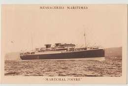 Ww1 Messageries Maritimes Bateau Maréchal Joffre éditeur Imp Dauvissat Paris Dos Scané - Bateaux