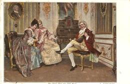 """""""I. Scmutzler. No Fool Like An Old Fool"""" Tuck Continental Art Seris PC # 4102 - Tuck, Raphael"""