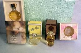 Lot De 4 Miniatures De Parfum NINA RICCI Avec Boites (M0767) - Unclassified