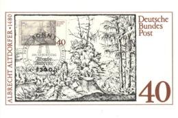 BRD 1067 Maximumkarte - BRD