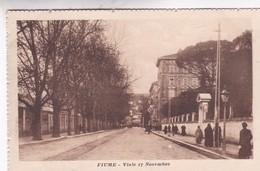 FIUME. VIALE 17 NOVEMBRE. ED EMIRO FANTINI. NON CIRCULEE CIRCA 1910's CPA - BLEUP - Kroatië