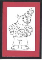 CPM Rhinocéros Non Circulé - Rhinoceros
