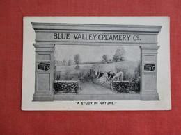 Blue Valley Creamery Chicago Il    Ref 3116 - Publicidad