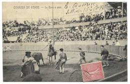 33-BORDEAUX-Arènes-Corrida De Toros - Le Taureau à Peur...1906  Animé - Bordeaux