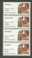 SPAIN 2018 ATM EXFILNA SEVILLA TARIFA A A2 B AND C  MONUMENTS ARCHITECTURA - 1931-Aujourd'hui: II. République - ....Juan Carlos I