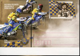 41076   Poland, Stationery Card 2018 Speedway  Motorcycle Cross Races - Motorräder