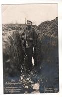9259,  FOTO-AK, WK I, Im Schützengraben - War 1914-18