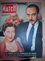 Paris Match N° 64 Du 10/06/1950-Le Comte Et La Comtesse De Paris à Rome - Testi Generali