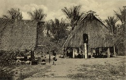 Suriname, Indian Village In Upper Cottica (1910s) Postcard - Surinam