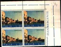 74842) ITALIA-QUARTINA- 20 LIRE Salviamo Venezia -1 TIPO- 1973 (5 Marzo / 10 Aprile) -MNH** - 6. 1946-.. Repubblica