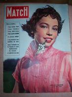 PARIS MATCH N°59 1950 - Leslie Caron, Chez Edith Piaf/THOREZ/MATISSE/HARDY - Informations Générales
