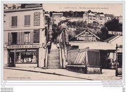 02. Aisne :  Laon . Escalier Municipal . - Laon