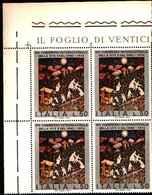 74844) ITALIA-QUARTINA- 14º Congresso Internazionale Della Vite E Del Vino - 28 Settembre 1974 Se -MNH** FOTO INDICATIVA - 6. 1946-.. Repubblica