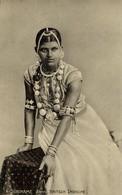 Suriname, Janki, British Indian Girl, Jewelry (1910s) Postcard - Surinam