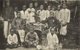 Indonesia, JAVA, Sundanese Wedding Ceremony (1910s) Postcard - Indonesië