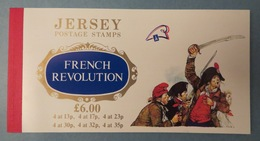 JERSEY French Revolution Carnet Neuf - 24 Timbres Neufs - 12p Environ - France - Postage Stamps - Cf 4 Photos - Jersey