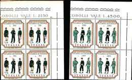 74845) ITALIA-QUARTINA- Bicentenario Della Guardia Di Finanza - 21 Giugno 1974 -MNH** FOTO INDICATIVA - 6. 1946-.. Repubblica
