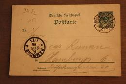 ( 1308 ) GS DR  P 36  I    Gelaufen  -   Erhaltung Siehe Bild - Allemagne
